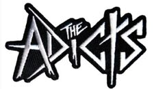 The Adicts Embroidered Logo Patch A002P Black Flag Vandals Misfits Rancid