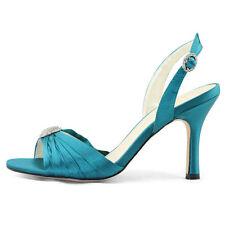 Women's Satin Slingback Shoes