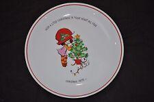 Mopsie 1973 Christmas Plate In Box World Wide Arts Mopsies Kitten Tree Cleveland