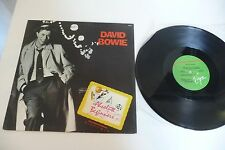 DAVID BOWIE RARE MAXI 33T ABSOLUTE BEGINNERS DISCO MIX BRAZIL PRESS. BRESIL 12""