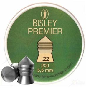 Bisley Premier .22 / 5.5mm Heavy Accurate Airgun Pellets - Choose Quantity