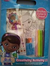 Disney-Doc-McStuffins-Creativity-Set-Sticker-Sheets-Color-Draw-Markers-Ages-3+