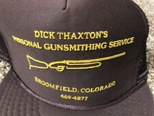 Trucker Hat Mesh SnapBack Vtg Gunsmith Service Firearm Rifle Baseball Cap