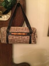 MARIO HERNANDEZ Signature Canvas Leather Hand Bag Handmade In Columbia