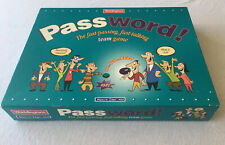 """100% COMPLETE VINTAGE (1995) """"PASSWORD!"""" - FAST-TALKING TEAM GAME BY WADDINGTONS"""