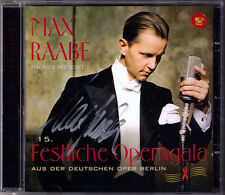 Max RAABE Signiert 15. FESTLICHE OPERNGAGA Nina Stemme Dasch Brueggergosman CD