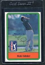 1981 Donruss Golf Bob Gilder #19 Signed Autograph