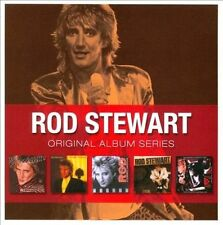 ROD STEWART 5CD NEW Foolish/Tonight I'm Yours/Camouflage/Every Beat/Vagabond