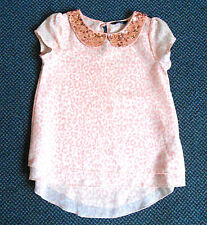 George Short Sleeve Collared Girls' T-Shirts & Tops (2-16 Years)
