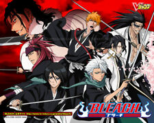Bleach complete anime series & movies DVD English