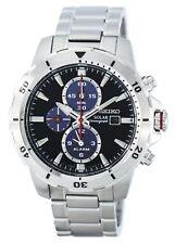 Seiko Solar Chronograph Alarm SSC557 SSC557P1 SSC557P Mens Watch