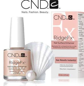 CND RIDGE FX NAIL SURFACE ENHANCER 15ML **BRAND NEW**