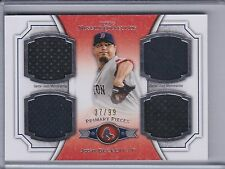 JOSH BECKETT 2012 Topps Museum Collection Primary Pieces Quad Relics   (B8438)
