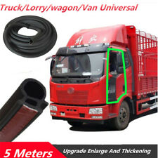 1pc 5M Truck Vans Door Rubber Seal Weather Strip Triangle EPDM Rubber Universal