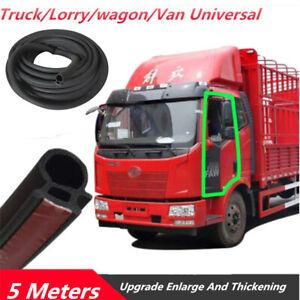 1pc 5M Truck Vans Door Rubber Seal Weather Strip Triangle EPDM Rubber Universal