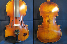 Strad style SONG maestro 4/4 violin inlaid rosewood & carving,Great sound #12395