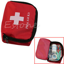 Camping Car Holiday Travel 1st Emergency First Aid Kit Carry Bag Pouch