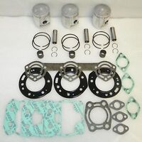 WSM Polaris 750 Piston Top End Rebuild Kit PWC 010-830-10 OE 3240148