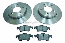 MAZDA 3 2.0 SPORT 150 BHP 04-13 REAR 2 BRAKE DISCS 280MM & PADS SET (CHECK SIZE)