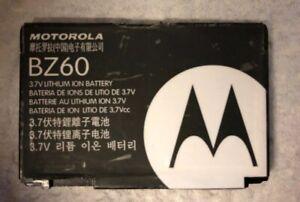 GENUINE  ORIGINAL Motorola BZ60 Battery- V3a RAZR V3c RAZR V3xx V3 V3i RAZR PEBL