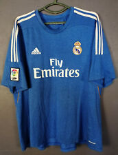 ADIDAS FC REAL MADRID 2013/2014 FOOTBALL SOCCER SHIRT JERSEY CAMISETA SIZE 2XL