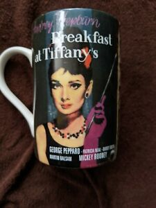Audrey Hepburn - Breakfast at Tiffany`s Becher Könitz Porzellan