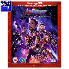 AVENGERS: ENDGAME Blu-ray 3D + 2D (REGION-FREE)