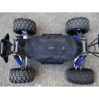 For Traxxas X-Maxx  XMAXX 6S & 8S Chassis Dirt Dust Resist Guard Cover Black