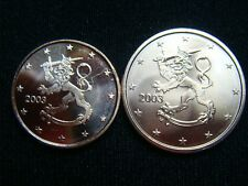 FINLANDIA  2003 ,  1CT Y 2CT.