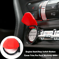 Engine Start/Stop Button Center Console Switch Cover Trim for Ford Mustang 2015+