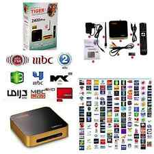 Tiger Z400 1080P Arabic IPTV Internet TV Receiver Turkish Channels MBC Bein OSN