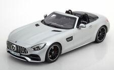 1:18 Norev Mercedes AMG GT C  Roadster 2017 matt-silver