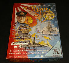 The Rising Sun Command at sea Clash of Arms 1994 WWII Naval Combat Volume 1.....