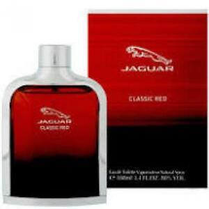 Eau de toilette Jaguar Classic Red 100 ml pour homme