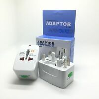 Safety Travel Charger Multi Conversion Plug Adapter Socket Converter AU/UK/US/EU
