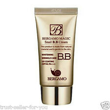 Bergamo, Snail BB Cream 50ml, Whitening Wrinkle Care Korean Cosmetic, Free ship