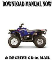 2000 POLARIS MAGNUM 325 factory repair shop service manual on CD