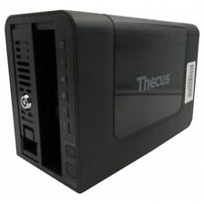 Thecus N2350 Network Attached Storage 2 Bay NAS *POST TEST* NO DRIVES