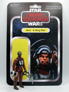 WORF - B-WING PILOT - Star Wars/Star Trek Custom 3.75 inch Action Figure