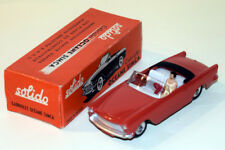 """SOLIDO #110 (1959) - SIMCA OCEANE CABRIOLET - ROSSA - MINT BOXED - SERIE """"100"""""""