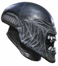 Costumes! Aliens On Earth! Exoplanet Alien 3/4 Vinyl Movie Mask Child