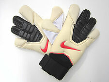 NIKE GK VAPOR GRIP 3 GLOVES SOCCER GOALKEEPER GLOVES  WHITE / BLACK sz11 NWOT