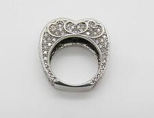 14kt White Gold Diamond Heart Ring