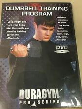 dumbbell training program DVD by Duragym pro series NEW in case Free shipping