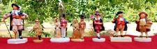 Sebastian Miniatures Lot (7) Figurines Vintage Stuyvesant, Colonial, Victorian +
