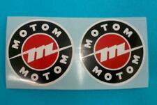 MOTOM 48 ADHESIVE decalcomanie adesivi decals stickers