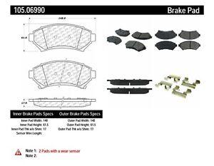 Frt Super Premium Ceramic Brake Pads  Centric Parts  105.06990