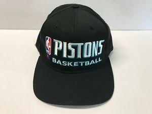 NOS Champion Detroit Pistons Basketball Teal Era Snapback Baseball Hat w/ Tags