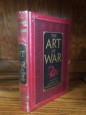 THE ART OF WAR Other Classics Eastern Thought SUN TZU, CONFUCIUS- LEATHER & NEW!