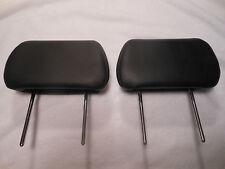 2004 2005 2006 2007 2008 Malibu Rear Headrests Black Leather